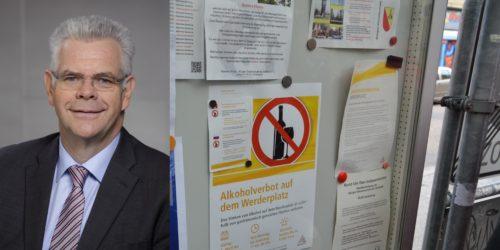 Motiv: CDU-Fraktion sieht Werderplatz auf gutem Weg
