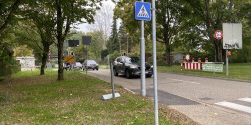 Motiv: Zu viel und zu schneller Durchgangsverkehr in Weiherfeld-Dammerstock